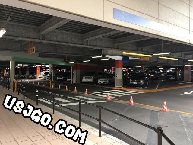 USJ 駐車場