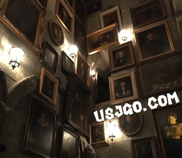 USJ ハリーポッター フォービドゥン・ジャーニー 肖像画