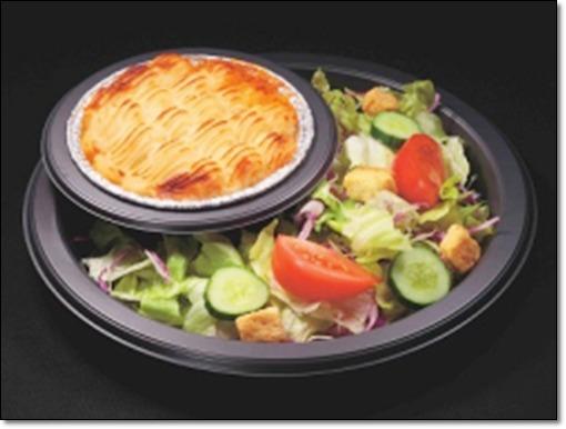 シェパーズパイ&ガーデンサラダ