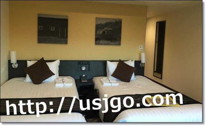 USJ ザパークフロントホテル 客室