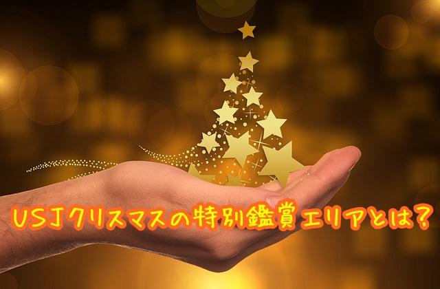 USJ クリスマス 特別鑑賞エリア