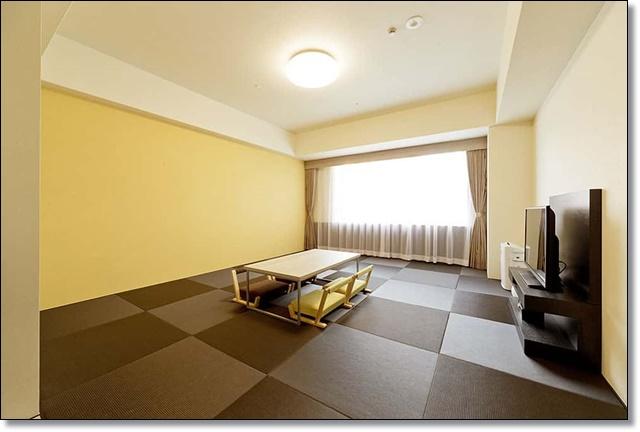 ザ・パークフロントホテル スタンダードフロア デラックスルーム(和室)