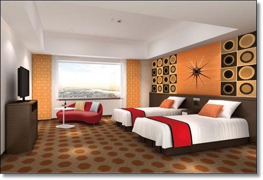 USJ ザパークフロントホテル カリフォルニアモダン