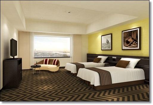 USJ ザパークフロントホテル スタンダードフロア