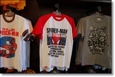 USJ スパイダーマン お土産グッズ Tシャツ