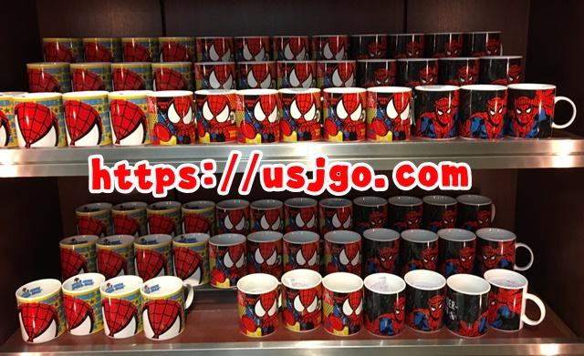 usj スパイダーマン マグカップ