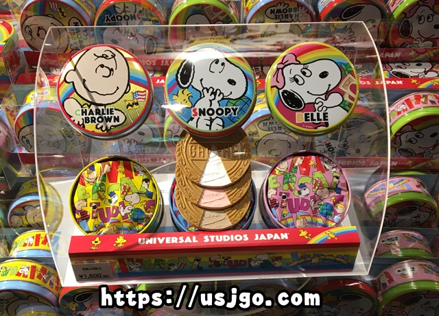 USJ スヌーピー お菓子 ゴーフル