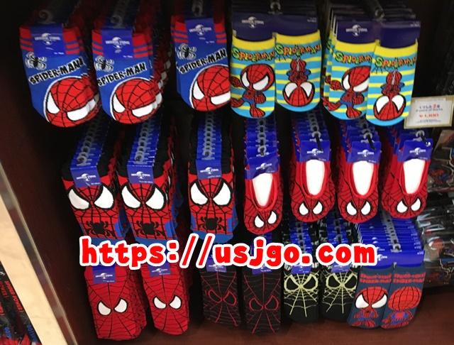 USJ スパイダーマン 靴下