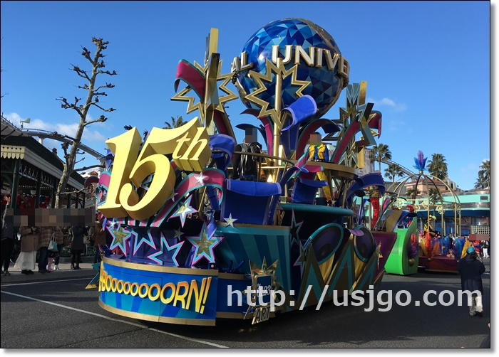 USJ リボーン パレード ショー