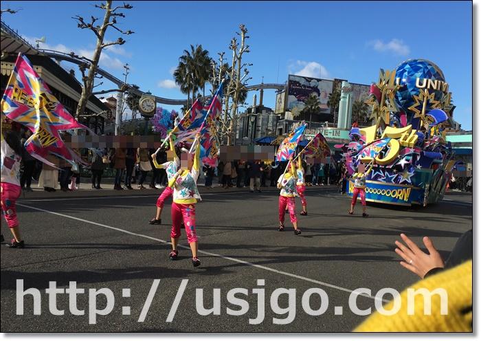 USJ リボーンパレード ダンサー