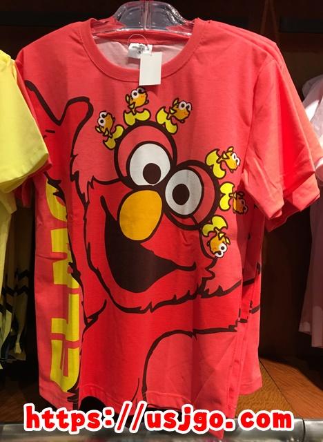 USJ エルモ メガフェイス Tシャツ