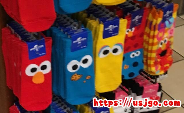 USJ エルモ 靴下