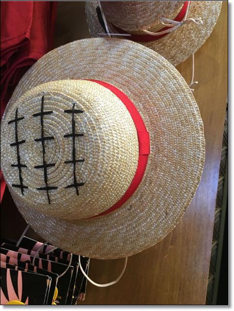 USJ ワンピース ルフィの帽子 グッズ