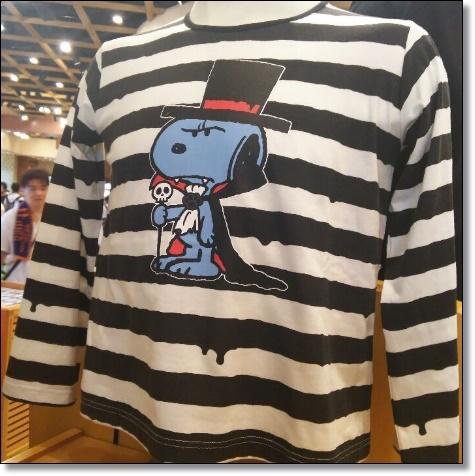 USJ ハロウィン 2016 スヌーピーTシャツ グッズ
