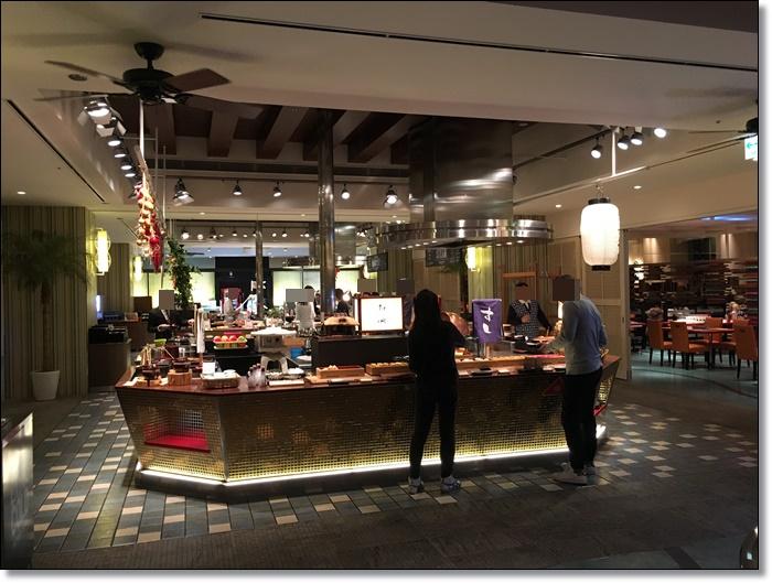 USJ ホテルユニバーサルポート リコリコ レストラン 朝食バイキング 画像