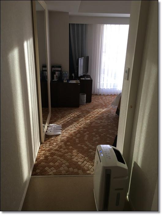 USJ ホテルユニバーサルポート スタンダードキングルーム 部屋