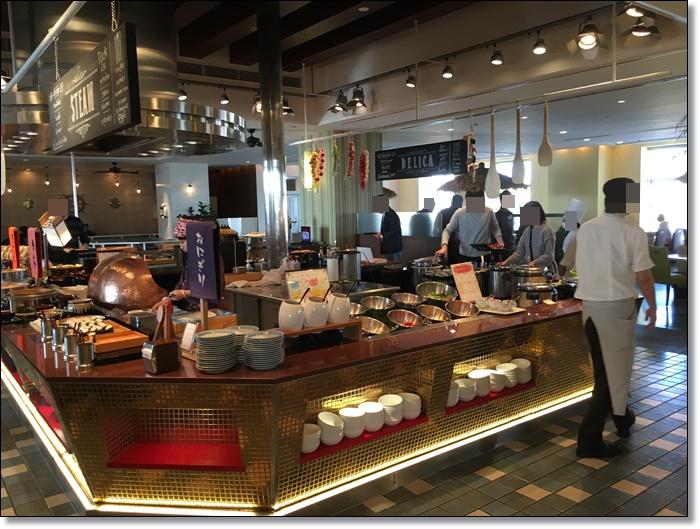 USJ ホテルユニバーサルポート リコリコ レストラン 朝食バイキング