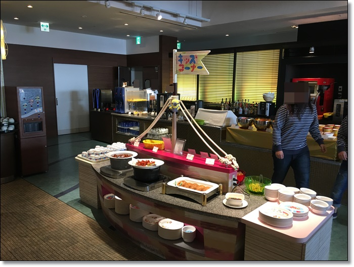 USJ ホテルユニバーサルポート リコリコ レストラン キッズコーナー 画像
