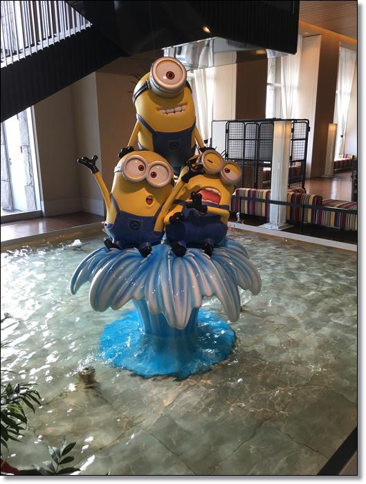 USJ ホテルユニバーサルポート ミニオン