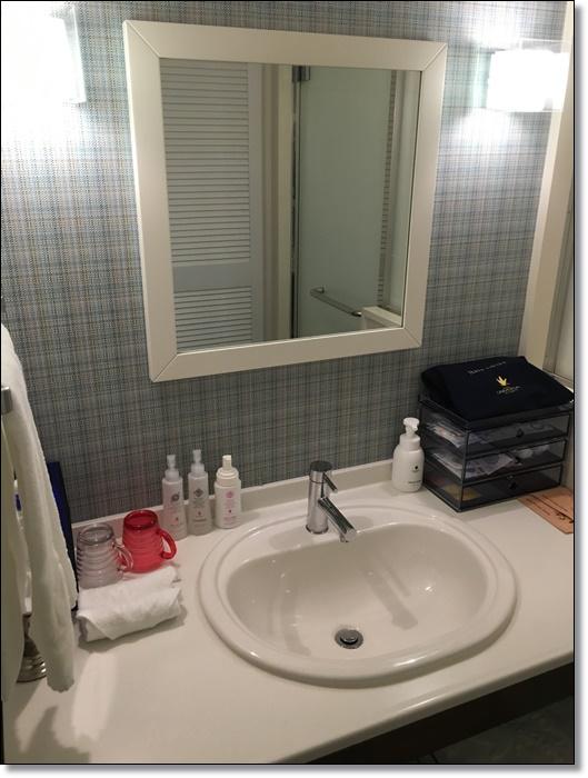 USJ ホテルユニバーサルポート 部屋 洗面台