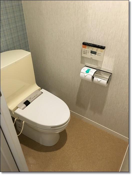 USJ ホテルユニバーサルポート 部屋 トイレ 画像
