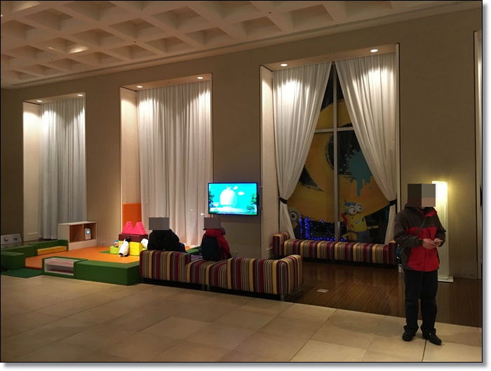 USJ ホテルユニバーサルポート ミニオン キッズスペース