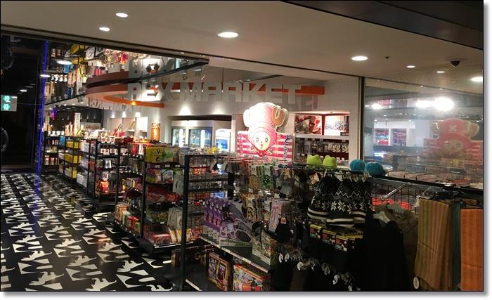 USJ ホテルユニバーサルポート レックス商店街