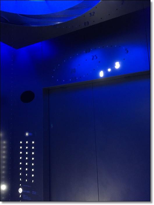 USJ パークフロントホテル エレベーター