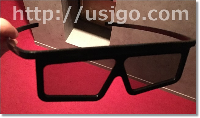 USJ  ゴジラ 4Dメガネ