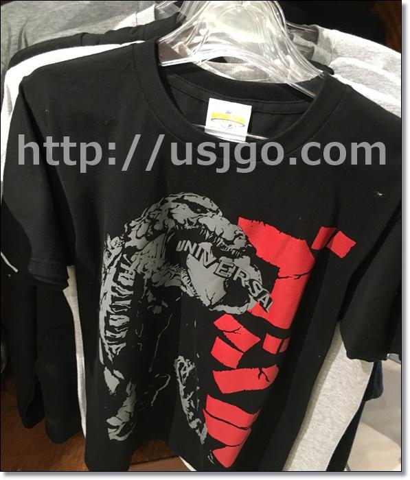 USJ ゴジラ グッズ Tシャツ黒