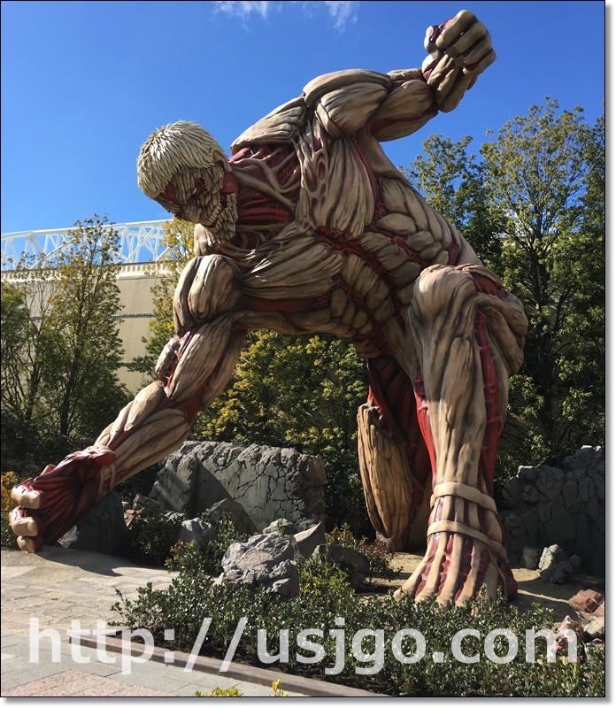 USJ 進撃の巨人 鎧の巨人
