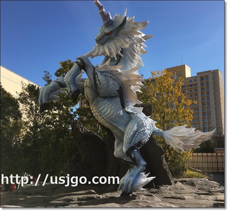 USJ モンハン2017 等身大キリン