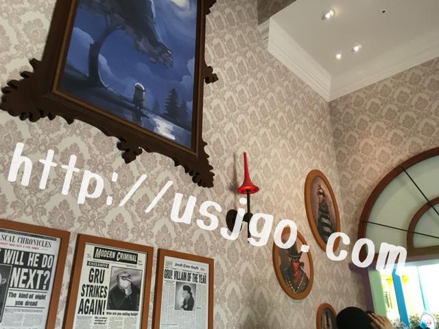 usj ミニオンハチャメチャライド グルーの邸宅