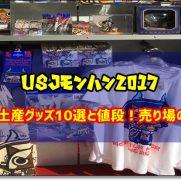 USJ モンハン2017 お土産 グッズ