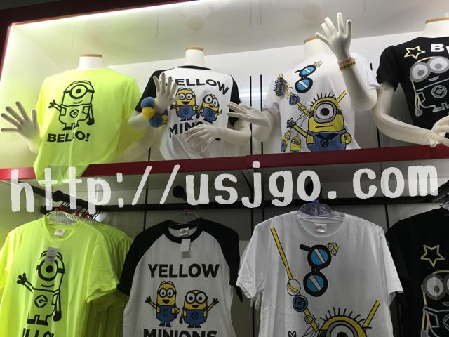 usj ミニオンパーク お土産グッズ Tシャツ