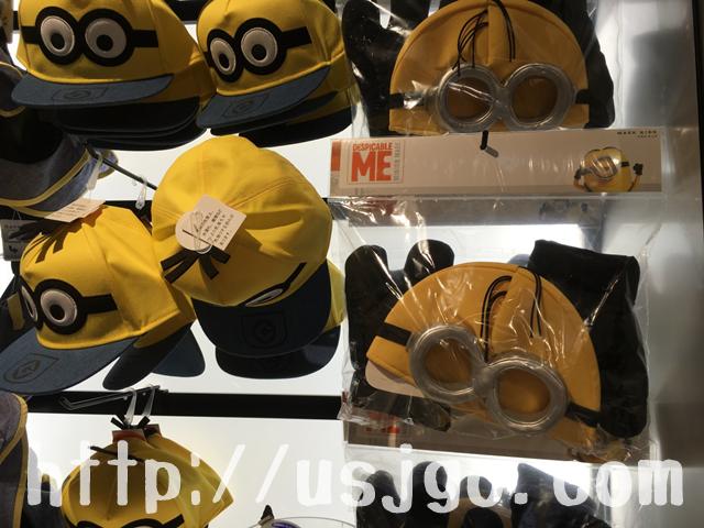 usj ミニオンパーク グッズ 帽子