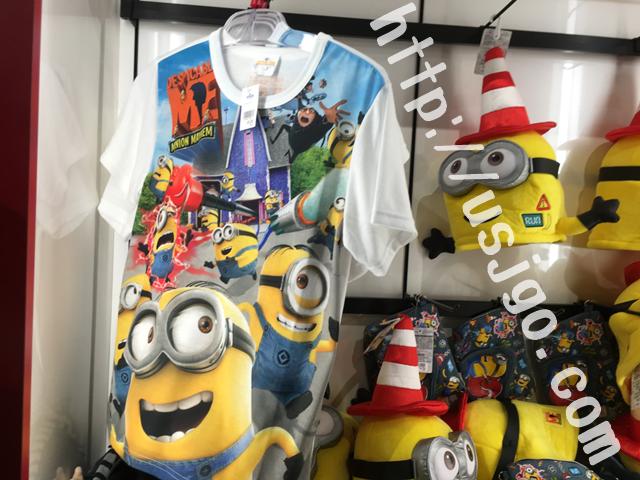usj ミニオンパーク グッズ Tシャツ