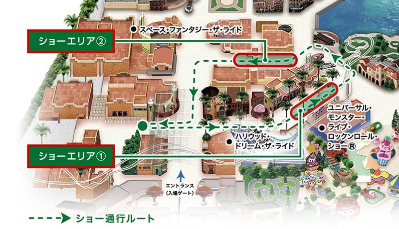 ミニオン・ハチャメチャ・クリスマス・パーティー マップ