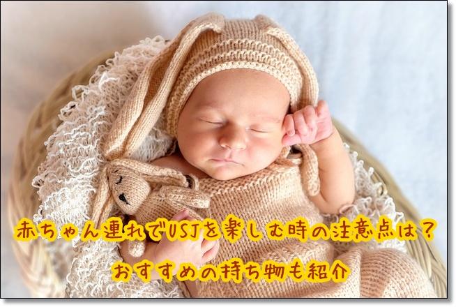 USJ 赤ちゃん連れ 持ち物