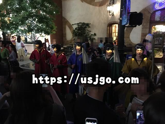 USJ スペクタクルナイトパレード スペシャルグリーティング ハリーポッターのダンサー