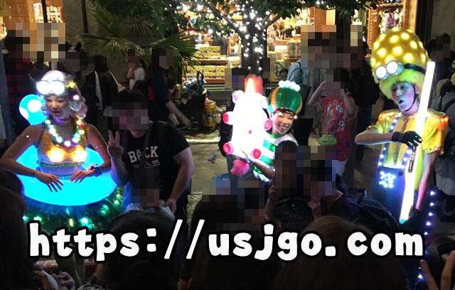 USJ スペクタクルナイトパレード スペシャルグリーティング ミニオン