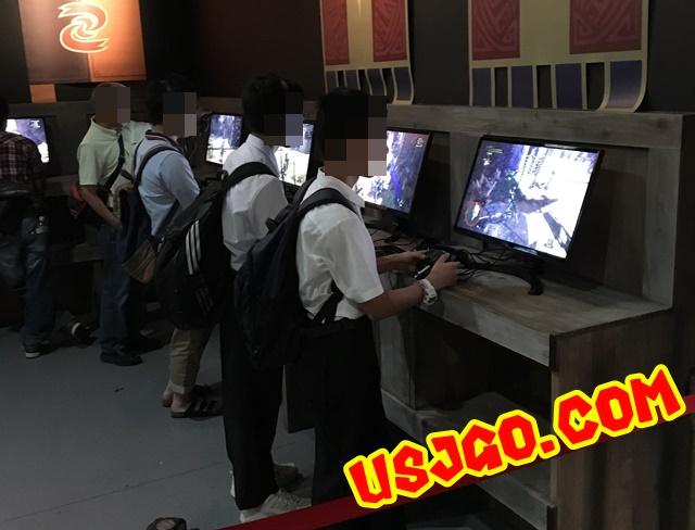 USJ モンスターハンターザリアル2018 タイムアタック
