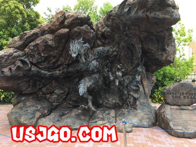 モンハンザリアル2018 リオレウス溶岩立像