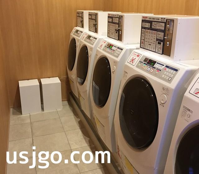 USJ ザシンギュラリホテル 湯上り処 洗濯機