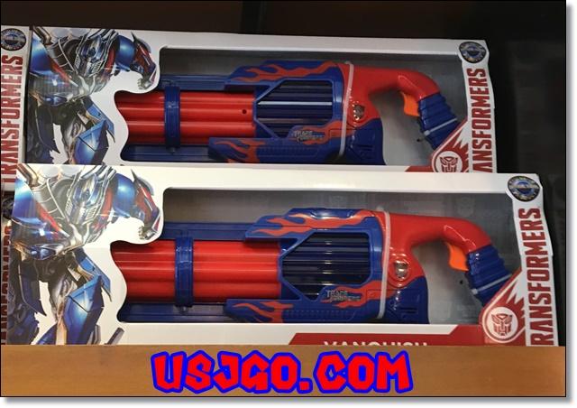USJ トランスフォーマー オプティマス 武器