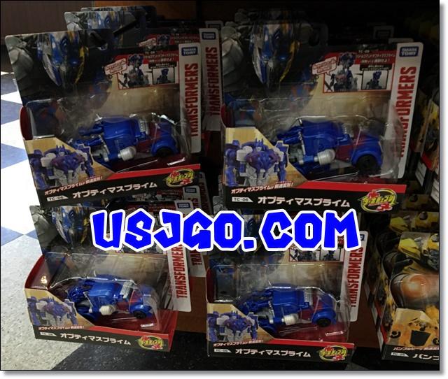 USJ トランスフォーマー オプティマス スピードチェンジ型フィギュア