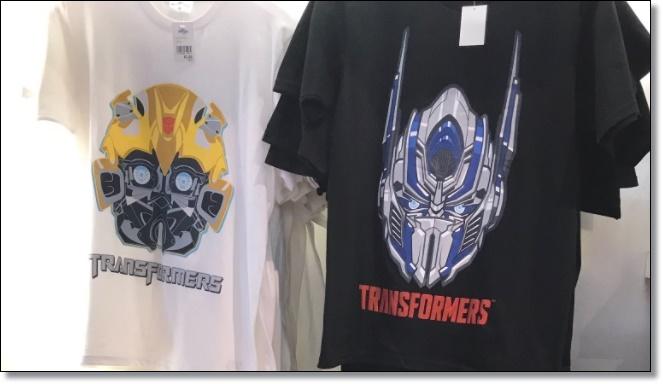 USJ トランスフォーマー Tシャツ