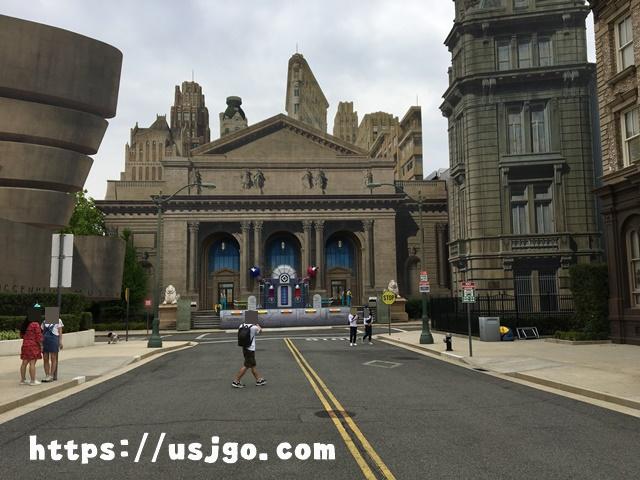 USJ ニューヨーク図書館&グッゲンハイム美術館のセット