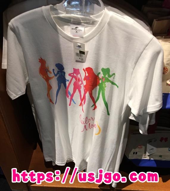 USJ セーラームーン 5戦士シルエットTシャツ