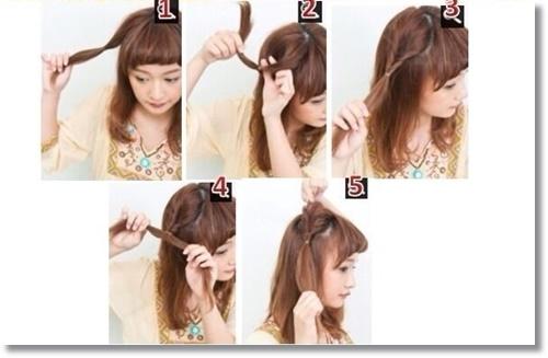 猫耳 髪型 作り方